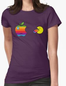 Yummy apple Womens Fitted T-Shirt