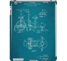 Barber Swinging Chair Patent 1950 iPad Case/Skin