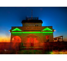 'Kirby's Cafe' St Kilda Pier Photographic Print