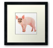 Barack Opig Framed Print