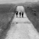 Three on the Way of Saint James by Richard McCaig