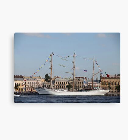 Mexican three-masted barque Cuauhtemoc Canvas Print