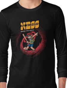 Ness Saves The Earth Long Sleeve T-Shirt
