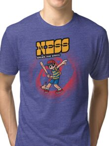 Ness Saves The Earth Tri-blend T-Shirt