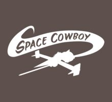 Space Cowboy in White One Piece - Short Sleeve