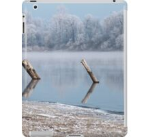 Winter river landscape iPad Case/Skin
