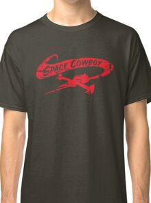 Space Cowboy - Distressed Red Classic T-Shirt