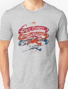 Space Cowboy - Mono Racer Unisex T-Shirt