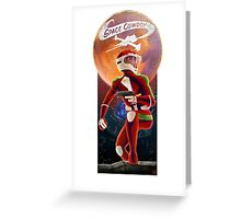 Space Cowboy - First Son of Mars Greeting Card