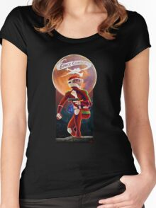 Space Cowboy - First Son of Mars Women's Fitted Scoop T-Shirt