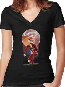 Space Cowboy - First Son of Mars Women's Fitted V-Neck T-Shirt