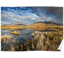 Blencathra and Skiddaw from Tewet Tarn in the English Lake District Poster