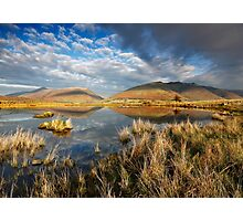 Blencathra and Skiddaw from Tewet Tarn in the English Lake District Photographic Print