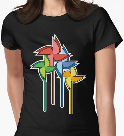 Colors of the wind Womens Fitted T-Shirt