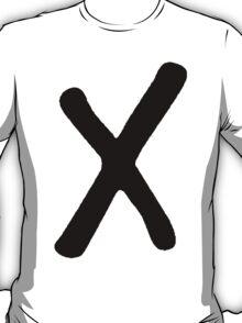 X [BLACK] T-Shirt