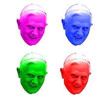 Warhol Pope Photographic Print