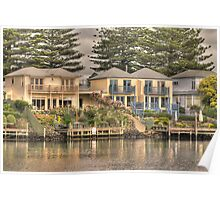 Sea Side Homes Poster