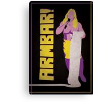"""Man of 1004 Armbars"" Wrestling Design Canvas Print"