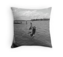 Again more confidence in youngsters can be a silly thing! Throw Pillow
