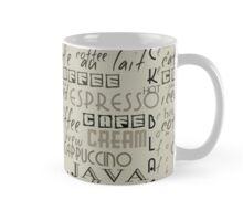 Coffee Typography Mug