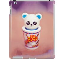 Panda in a ramen cup iPad Case/Skin
