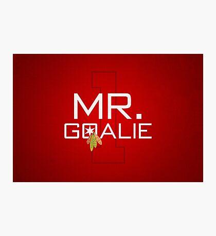 Mr. Goalie Photographic Print