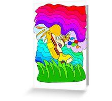 Yellow Submarine Trip Greeting Card