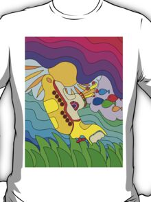 Yellow Submarine Trip T-Shirt