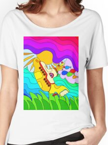 Yellow Submarine Trip Women's Relaxed Fit T-Shirt