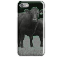 Cley Cows C iPhone Case/Skin