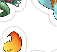 Pokemon - Starting Pokemon Sticker Sheet Collection Sticker