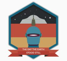 The Day The Earth Stood Still Badge Kids Clothes