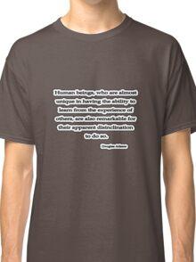 Human Beings, Douglas Adams Classic T-Shirt