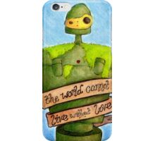 Laputa: Castle In The Sky Illustration - ROBOT iPhone Case/Skin