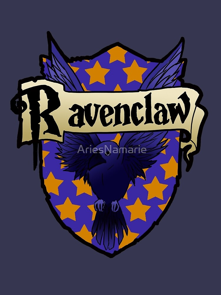 Ravenclaw Crest by AriesNamarie