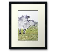 Cley Cows Too C Framed Print