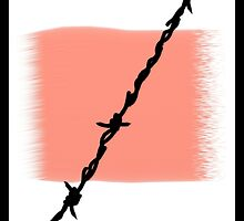 Barbed wire by Paul Garrard