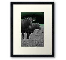 Cley Cows Too D Framed Print