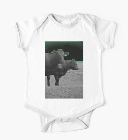 Cley Cows Too D One Piece - Short Sleeve