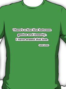Fine line, Oscar Levant T-Shirt