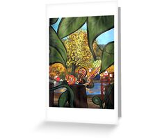 Sirens at the Pond Greeting Card