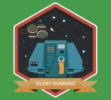 Silent Running Badge Kids Clothes