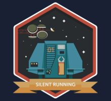 Silent Running Badge One Piece - Short Sleeve
