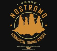 Nostromo Starfreighter by Olipop