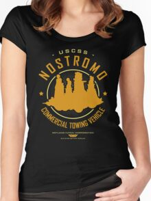 Nostromo Starfreighter Women's Fitted Scoop T-Shirt