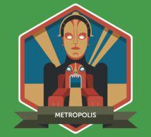 Metropolis Badge Kids Clothes