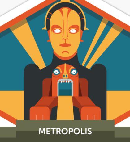 Metropolis Badge Sticker