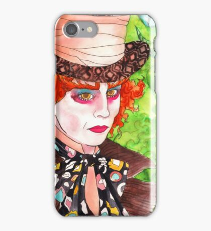 Down With the Bloody Red Queen iPhone Case/Skin