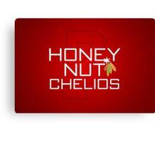Honey Nut Chelios Canvas Print