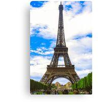 Eiffel Tower 11 Canvas Print